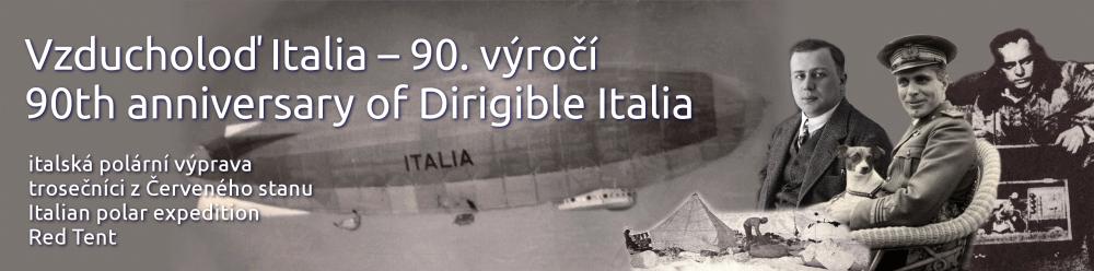 Vzducholoď Italia – 90. výročí – 90th anniversary of dirigible Italia